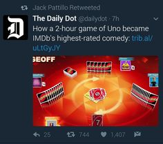 AH two hour uno game is IMDB's highest rated comedy Uno Memes, Roster Teeth, Achievement Hunter, Red Vs Blue, Rwby, Really Funny, The Magicians, Youtubers, Lp