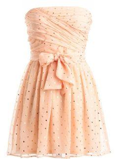 Pretty sparkly 2014 summer dress