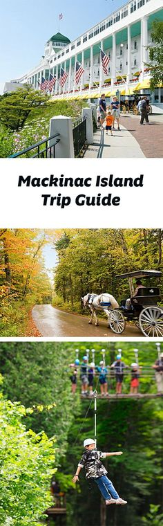 A ferry boat ride takes visitors to Mackinac Island, a famously Victorian and car-free destination that continues to lure generations of travelers. Trip guide: http://www.midwestliving.com/travel/michigan/mackinac-island/mackinac-island-trip-guide/