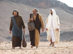 Free Visuals:  Jesus appears to two disciples walking to Emmaus  Jesus appears to two disciples and explains from Scripture that the Messiah had to suffer. Luke 24:13-35