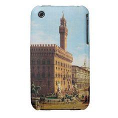 The Piazza della Signoria in Florence iPhone 3 Case-Mate Case