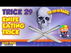 How To Eat A Knife – Knife Eating Secret Magic Trick Revealed (+lista de… – Minoo Todiwala – Bild How To Do Magic, Magic Tricks For Kids, Magic Tricks Revealed, Magic Illusions, Magic Show, Mind Blown, The Magicians, The Secret, Youtube