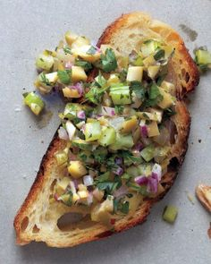 Crostini with Olive Relish Recipe