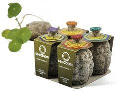 Groene vingers:  Seed bomb / Flower bomb / Bloemen bom.  #guerillagardening