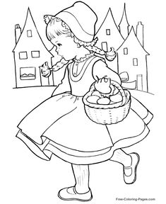 Printable Princess Coloring Pages 09