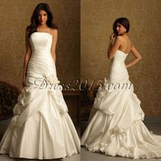 Love love love it!! And the side flower from the other dress, sweet heart cut. :)