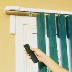 Perkaya variasi interior jendela setiap ruangan anda dengan Window Blinds, meliputi : Motorized Vertical Blind dalam bentuk sesuai selera anda, yang dir... - NaGa Interior - Google+