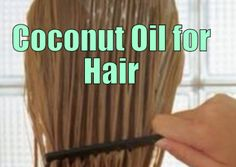 Coconut Oil for Hair Mask