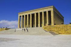 Anıtkabir - o mausoléu Atatürk, em Ancara