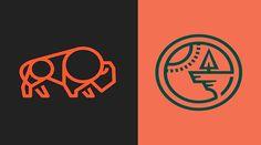 Great Monoline Logo Designs Will Make You Inspire