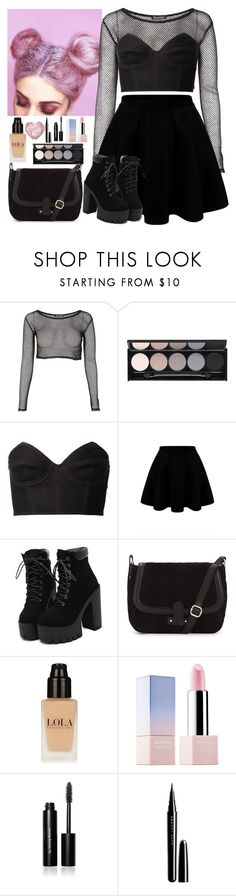 """""""Edgy ."""" by chloe-bvb ❤ liked on Polyvore featuring Witchery, Fleur du Mal, Sephora Collection, Bobbi Brown Cosmetics, Marc Jacobs, women's clothing, women, female, woman and misses"""