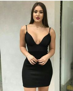 Sexy Deep V Neck Black Homecoming Dresses , A -Line Spaghetti Straps Short Homecoming Dress Sexy Dresses, Short Dresses, Fashion Dresses, Elegant Dresses, Party Dresses, Summer Dresses, Formal Dresses, Wedding Dresses, Model Outfits