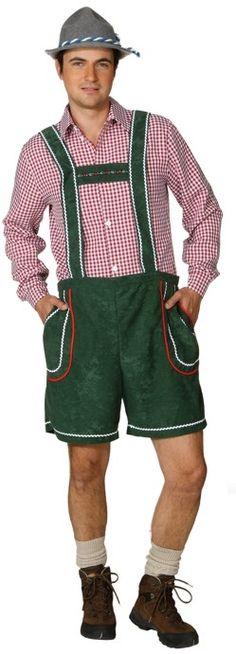 Disfraz de bávaro verde adulto : Vegaoo, compra de Disfraces adultos. Disponible en www.vegaoo.es