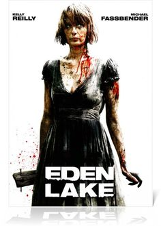 Eden Lake 伊甸湖  (2008)    一對情侶遠離城市喧囂,前往偏僻的寧靜湖畔度假,意外與一群翹家少年發生衝突。當兩人試著穿越叢林到鄰近小鎮求助時,卻慘遭少年們殘酷無情的攻擊。英國新銳詹姆斯·瓦金斯自編自導首部長片,貼近現實的故事題材,直襲人心的極限恐懼,嗜血指數直追《德州電鋸殺人狂》,徹底挑戰心臟強度。新婚夫婦珍妮與史帝夫計畫到寧靜優美的湖邊度過浪漫的周末假期,卻遭到附近的一群暴徒青少年的殘暴攻擊。奮力逃脫以為自己平安離開湖區,抵達鎮上,沒想到這才是惡夢的開始  http://www.56.com/u74/v_NTUxOTMzMTE.html/880831_cdcly21.html