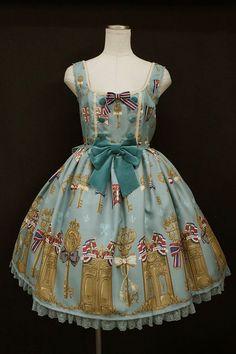 Angelic Pretty / luck of the key jumper skirt - closet child online shop