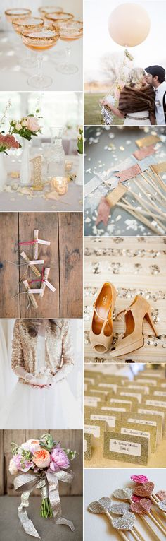 All That Glitters – Gorgeously Glam Wedding Inspiration | weddingsonline