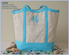 Free Shipping  Set of 6 Bridesmaid Tote Bags by FeliciasFancies, $48.00