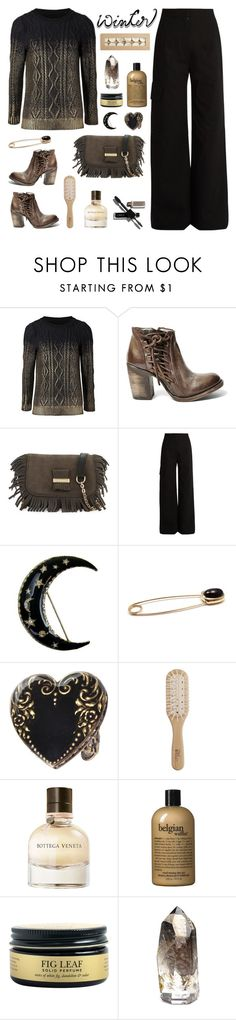 """Sweater Weather"" by deepwinter ❤ liked on Polyvore featuring Steve Madden, See by Chloé, J.W. Anderson, Pomellato, Sweet Romance, Philip Kingsley, Bottega Veneta, philosophy and wintersweater"