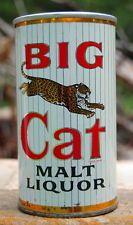 BIG CAT ZIP TAB BEER CAN IN EXCEPTIONAL SHAPE!