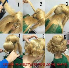 Ideas hairstyles for long hair