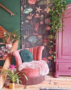 Home Interior Design — New Stylish Bohemian Home Décor - Eclectic Decor Bohemian Living, Bohemian Decor, Modern Bohemian, Bohemian Style, Dark Bohemian, Boho Chic, Vintage Bohemian, Shabby Chic, Home Design