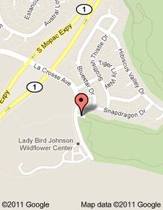 3.1 mile veloway located right near Ladybird Johnson's wildflower center