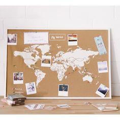 you can check out my own site to get more detailed newest pics world map bedroom cork boards ideas recipe, Cork World Map, Cork Map, World Map Decor, Cork Board Ideas For Bedroom, Diy Cork Board, Cork Boards, World Map Bedroom, World Map Pin Board, Travel Map Pins