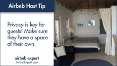 This is especially important for hosts sharing their space with other Airbnb guests during their stay.  #Airbnb #LifesBetterWithAirbnb #AirbnbExpert