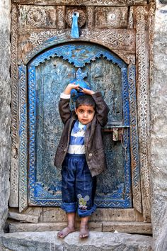 Blue Boy - Djibbla, Yemen