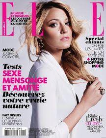 Über Fashion Marketing: Blake Lively na capa da Elle France