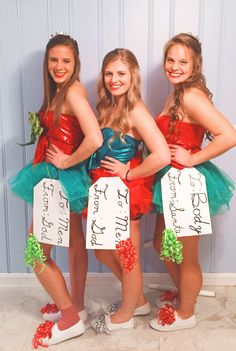 Diy christmas costumes playing dress up pinterest diy christmas present halloween costume diy solutioingenieria Images
