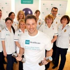 Health and wellbeing expert Jessie Pavelka is encouraging us to get fit and active whilst at work with some easy and simple exercise routines that will get our energy flowing Jesse Ward, Workout At Work, We Energies, Health And Wellbeing, Easy Workouts, Jessie, Chef Jackets, Pilot, British