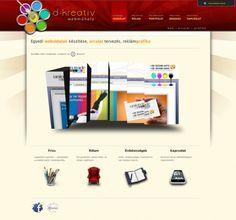 D-kreatív webműhely v1.0