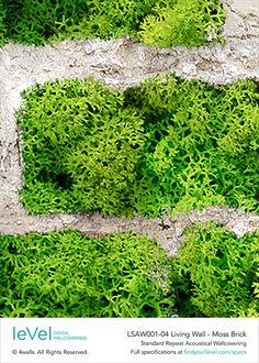 LSAW001-04 Living Wall_Moss Brick_SAMPLE