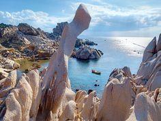 Fabulous pink rocks at Capo Testa, Sardinia Italy Vacation, Italy Travel, Life Is An Adventure, Adventure Travel, Places To Travel, Places To See, Santa Teresa, Going On Holiday, Island Beach