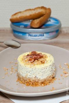 Cheesecake salé au bacon et pavot | Cahier de gourmandises