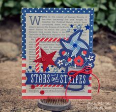 Cards with Washi - Love My Tapes! Pebbles Americana collection