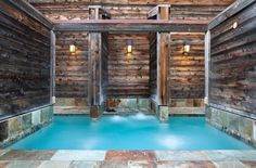 Ventana Inn & Spa offers two Japanese hot baths, one with a sauna, and two four-foot-deep swimming pools, one clothing optional. #travel #bigsur #california