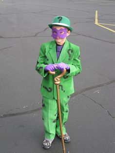 home made riddler costume Halloween 2016, Holidays Halloween, Halloween Costumes, Halloween Ideas, Riddler Costume, Red Cottage, Best Cosplay, Dress Up, Grandkids