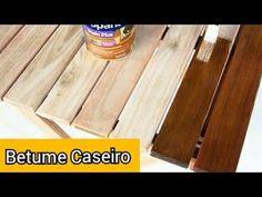 Betume Caseiro:Efeito Madeira Envelhecida Diy Videos, Diy Painting, Hardwood Floors, New Homes, Woodworking, Zulu, Crafts, Tutorials, Home Decor