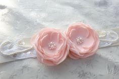 Pink Bridal Beaded Flower Sash Bridal Gown by LudasPreciousDesigns https://www.etsy.com/listing/218792798/pink-bridal-beaded-flower-sash-bridal?ref=shop_home_active_1