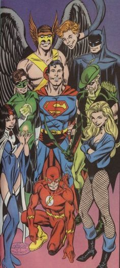 The Justice League of America (Satellite Era)