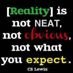 #76 - Reality | Top 100 C.S. Lewis quotes | Deseret News