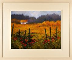 Limited edition prints for sale of a colourful painting of a thatched cottage set in a west of Ireland landscape by Irish landscape artist Chris McMorrow Irish Landscape, Ireland Landscape, Irish Cottage, Colorful Paintings, Limited Edition Prints, Prints For Sale, Landscape Paintings, Countryside, Coloring Pages