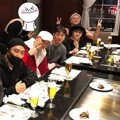 #SECHSKIES #젝스키스 #젝키 #즐거운회식 #Dinner #麻布 #goodplace #goodpeople #YG #YGfamily