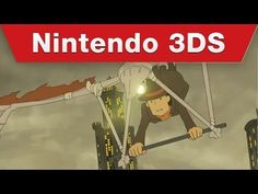 ▶ Nintendo 3DS - Professor Layton and the Azran Legacy Story Trailer - YouTube HERE'S THE TRAILER, YOU'RE WELCOME XD