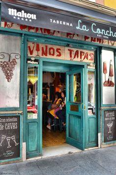 Taberna La Concha, Cava Baja, Madrid