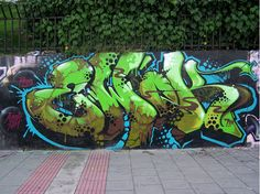 This week's spotlight is on Ewok. Graffiti Piece, Graffiti Murals, Graffiti Styles, Street Art Graffiti, Graffiti Artists, Graffiti Alphabet, Graffiti Lettering, Samurai Art, Ewok