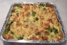 Chicken & Brocolli Brunch Casserole :: Chebe Gluten Free Recipes (I would sub on the milk/cheese so J can eat it)