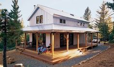 Best Small House Plans 452-3.  I really like this small house.
